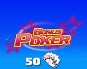 Bonus Poker 50 Hand